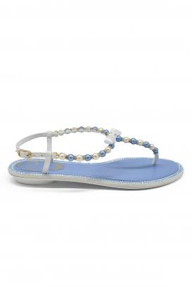 Sandales à perles