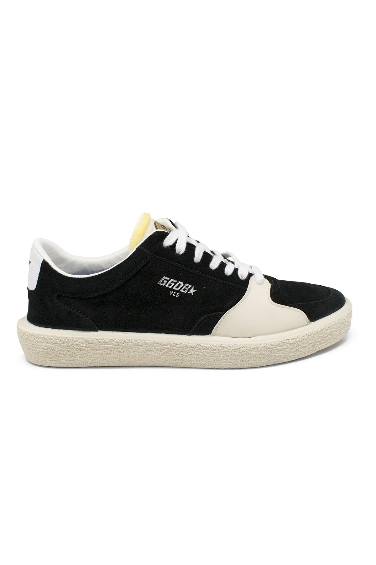 Golden Goose Tennis sneakers in black suede