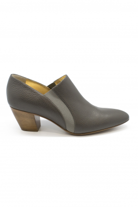 Walter Steiger Seventy Eight boots in grey leather