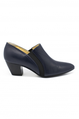 Walter Steiger Seventy Eight boots in blue leather