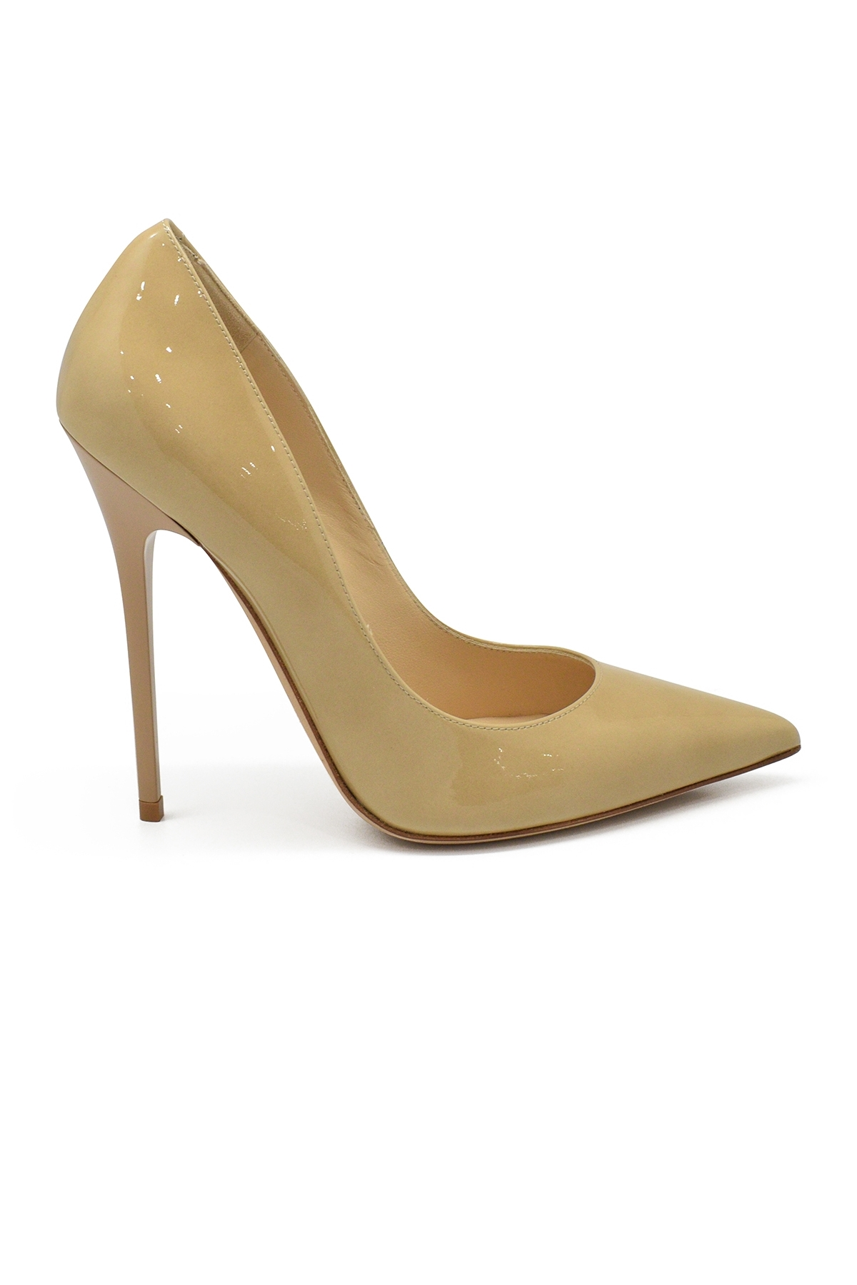 Jimmy Choo Anouk pumps in nude patent