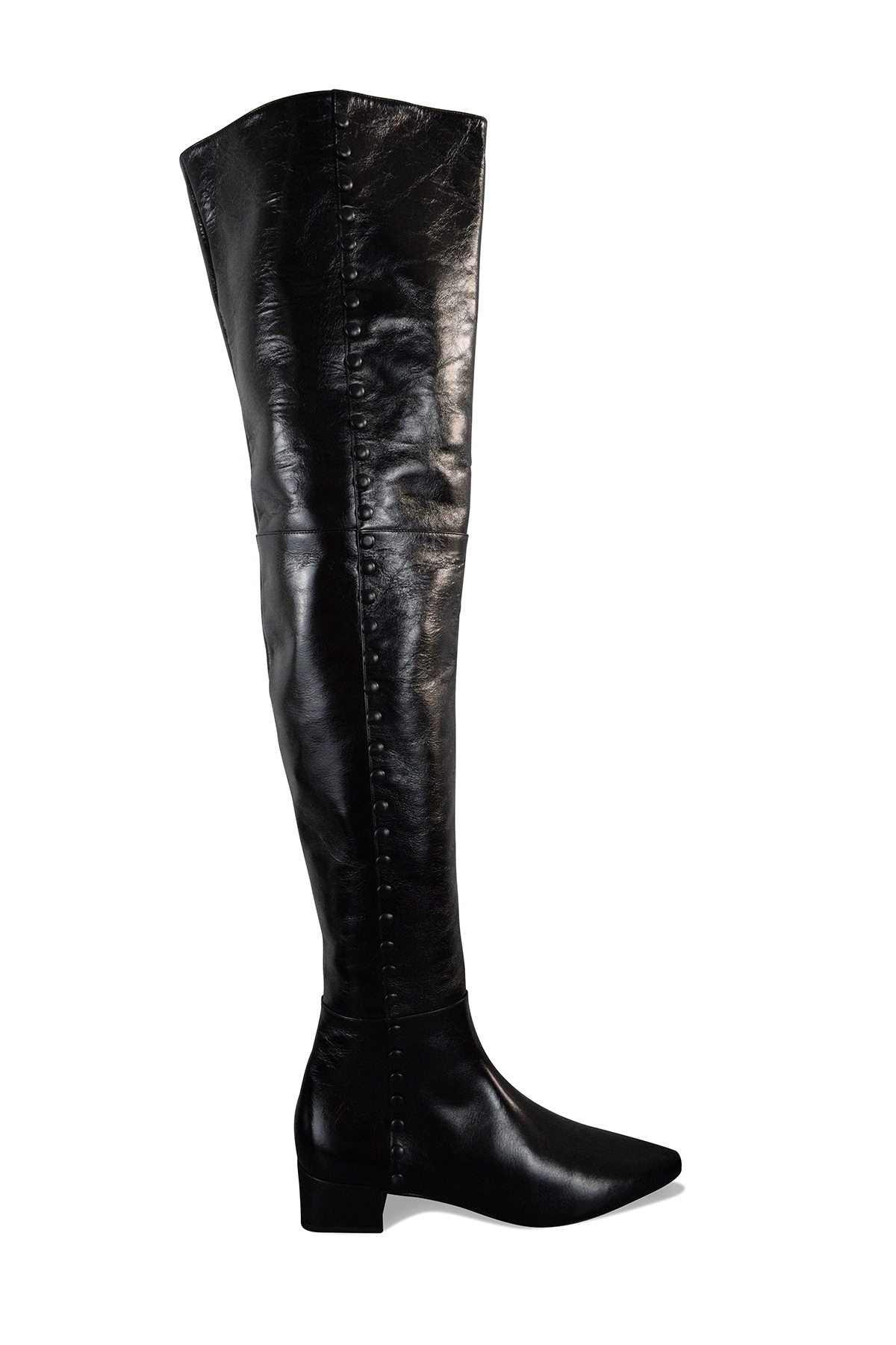 Saint Laurent boots in black shiny leather