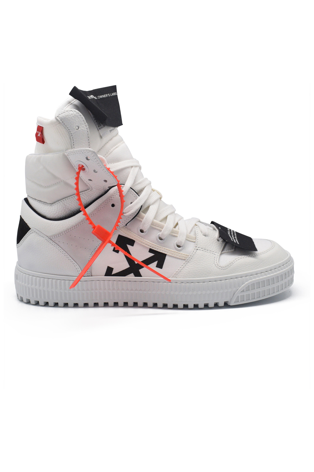 Men S Luxury Sneakers Off White Sneakers Off Court High White Model