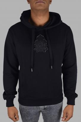 Dolce & Gabbana black sweatshirt with hood
