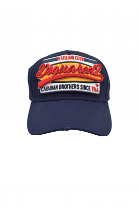 Cap Dsquared2 blue