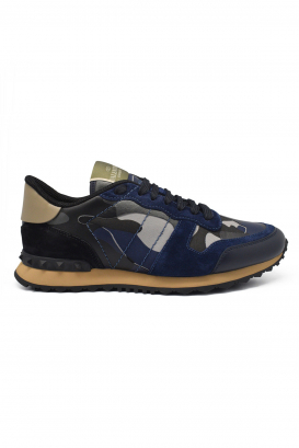 Valentino Rockrunner sneakers camouflage