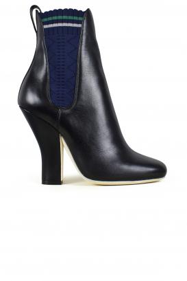 Fendi leather boots