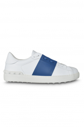 Valentino Open sneakers white with blue strip