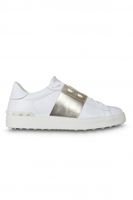 Valentino Open sneakers white with platinum strip
