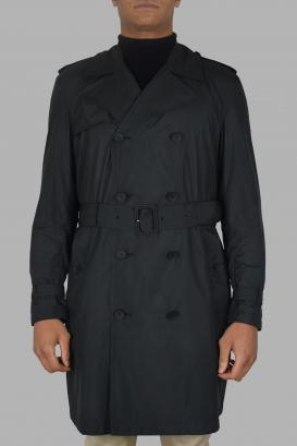 Trench coat Valentino black.
