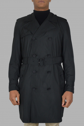 Trench coat Valentino noir.