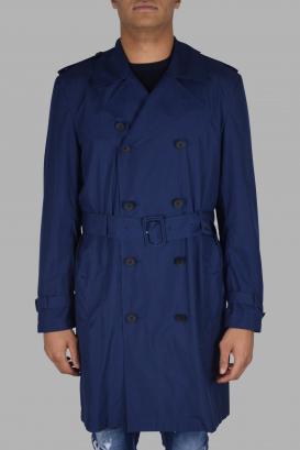 Valentino blue trench coat