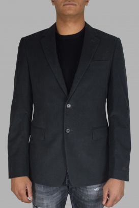 Prada gray blazer.