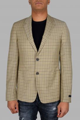 Prada beige wool jacket.