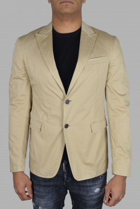 Prada beige cotton jacket.