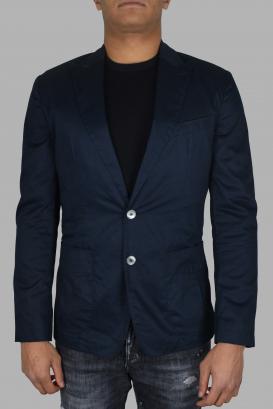Blue Dolce & Gabbana jacket.