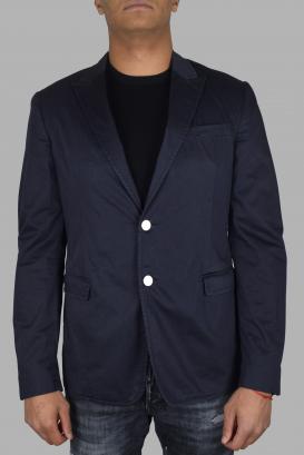 Prada blue in blue cotton.