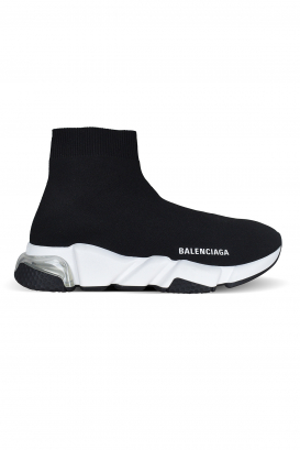 Black Speed Clear Sole Balenciaga sneakers.