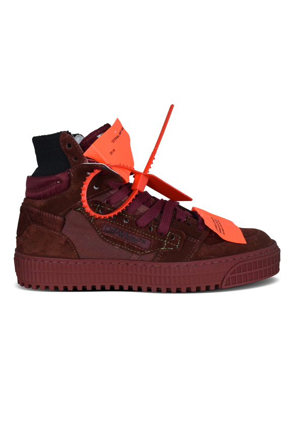Off Court 3.0 sneakers in burgundy suede.