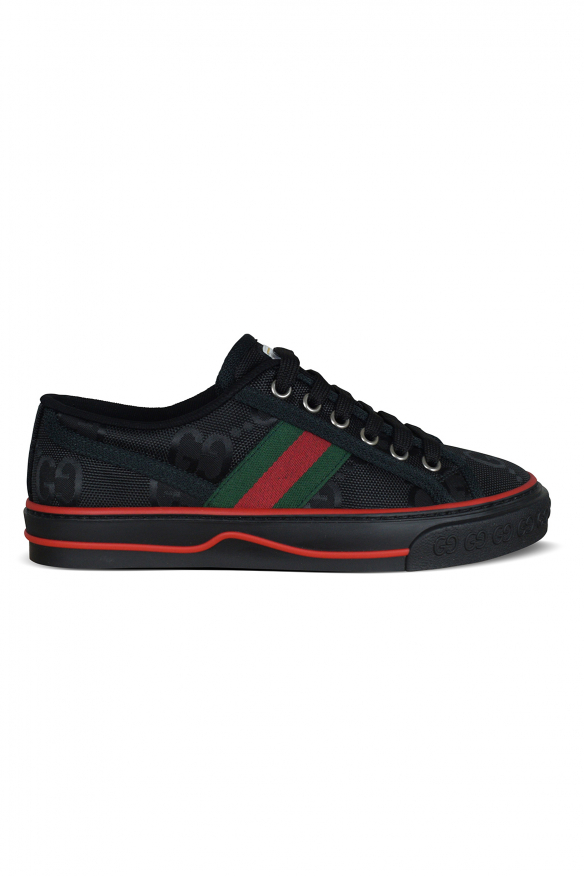 Gucci Off the Grid sneakers in black nylon.