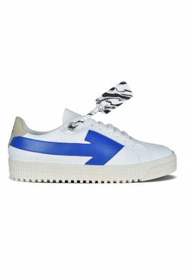 Arrow Off-White sneakers in white leather and white laces.