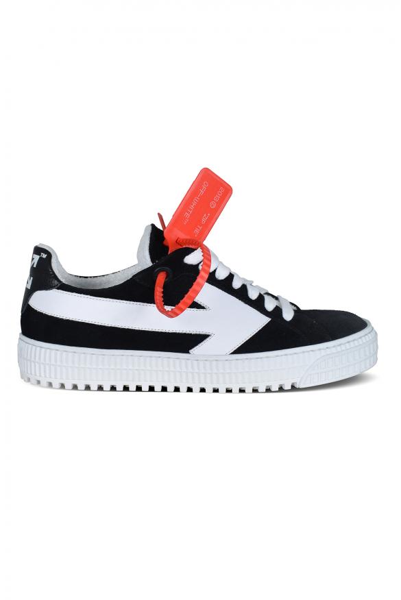 Arrow Off-White sneakers in black suede