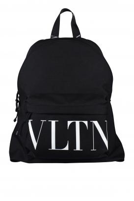 Valentino Garavani backpack in black nylon.