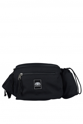 Balenciaga satchel in black ECONYL® polyester.