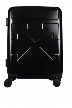 Black varnish Off-White suitcase.