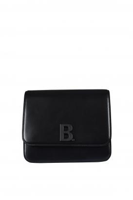 Bdot Balenciaga handbag in black calfskin.