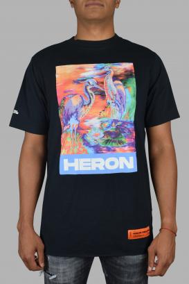 Heron Preston t-shirt in black cotton.