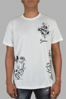 White Givenchy T-Shirt.