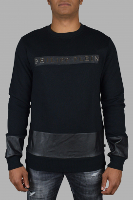 Philipp Plein black sweatshirt.
