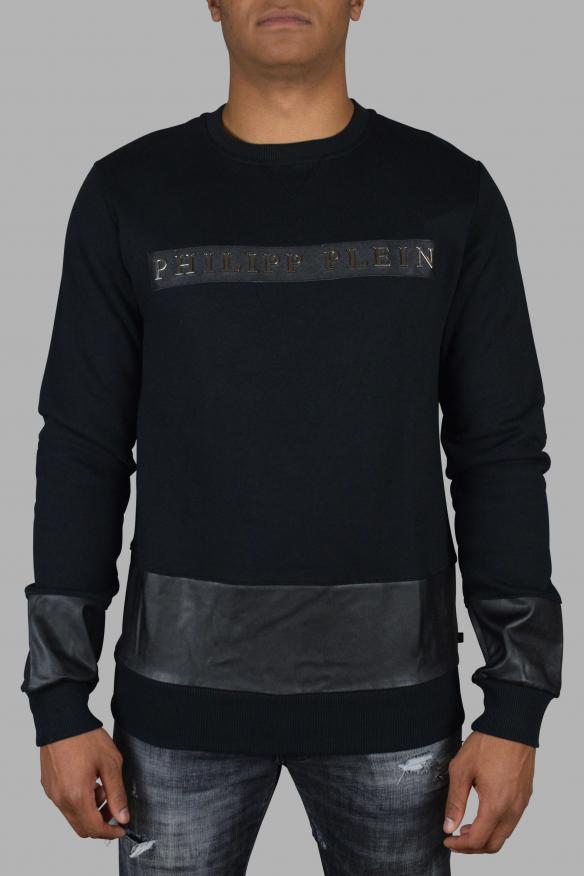 Philipp Plein black sweatshirt.