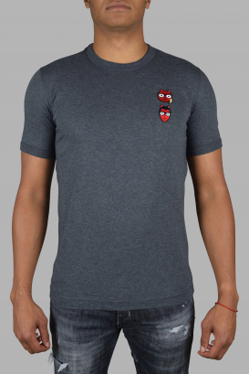 Dolce & Gabanna T-Shirt in gray cotton.