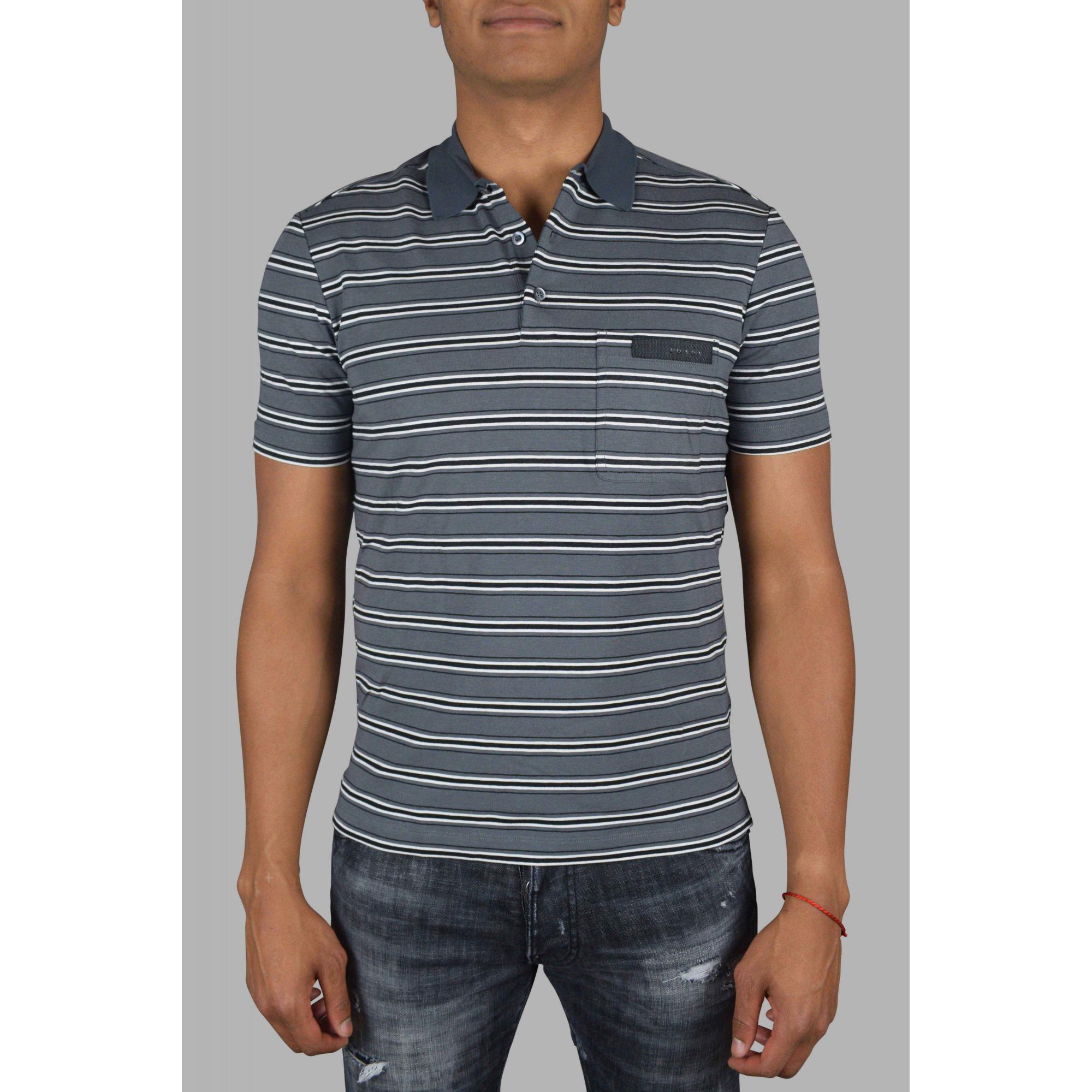 Prada short sleeve polo shirt.