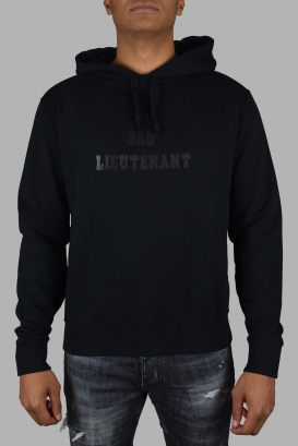 "Saint Laurent sweatshirt with ""bad lieutenant"" print."
