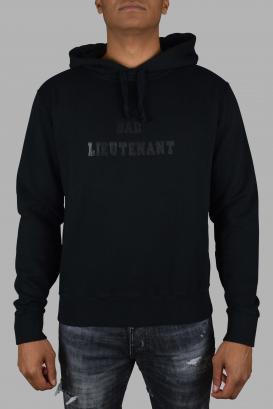 "Saint Laurent sweatshirt with ""bad lieutenant"" print."