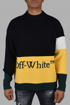 Off-White black wool sweater.