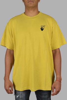 Yellow oversize Off-White T-Shirt.