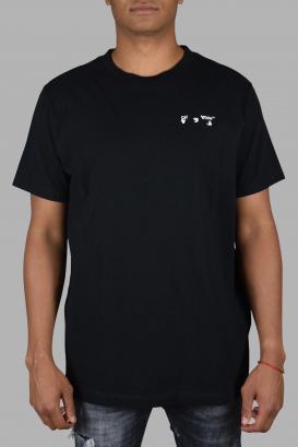 Black Off-White T-Shirt.