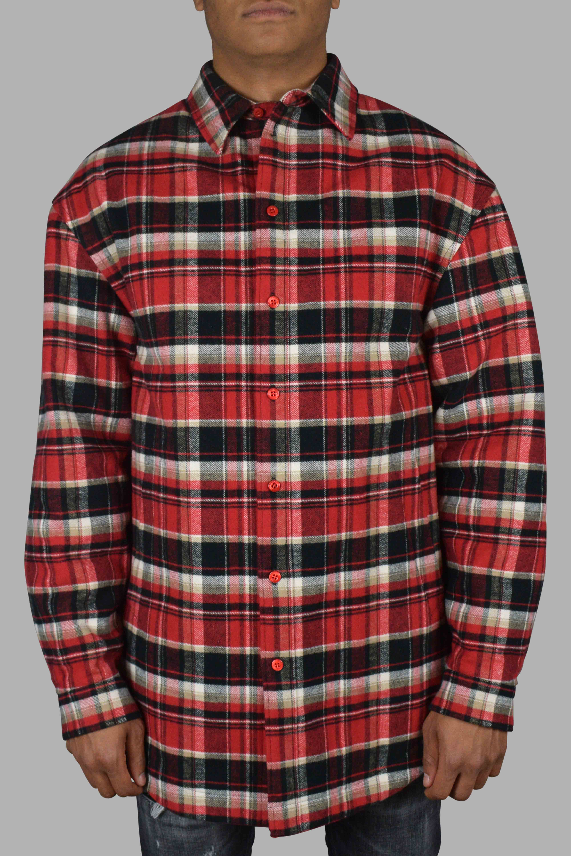 Chemise à carreaux - Balenciaga - Modalova