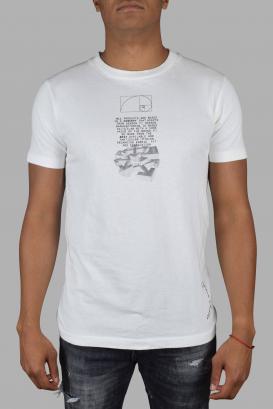 White Off-White T-Shirt.