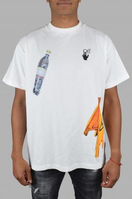 Oversize Off-White white T-Shirt.