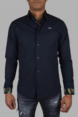 Philipp Plein shirt in black cotton.