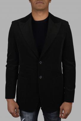 Prada jacket in brown cotton.
