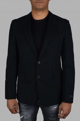 Prada jacket in dark blue cotton.