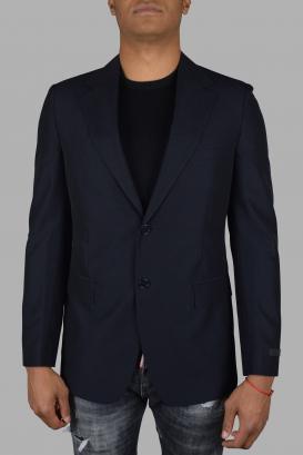 Prada blue suit jacket.