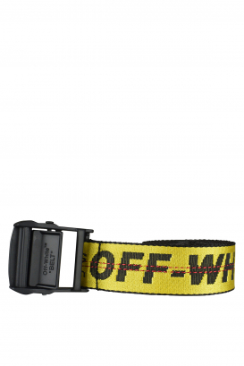 Off-White yellow belt.