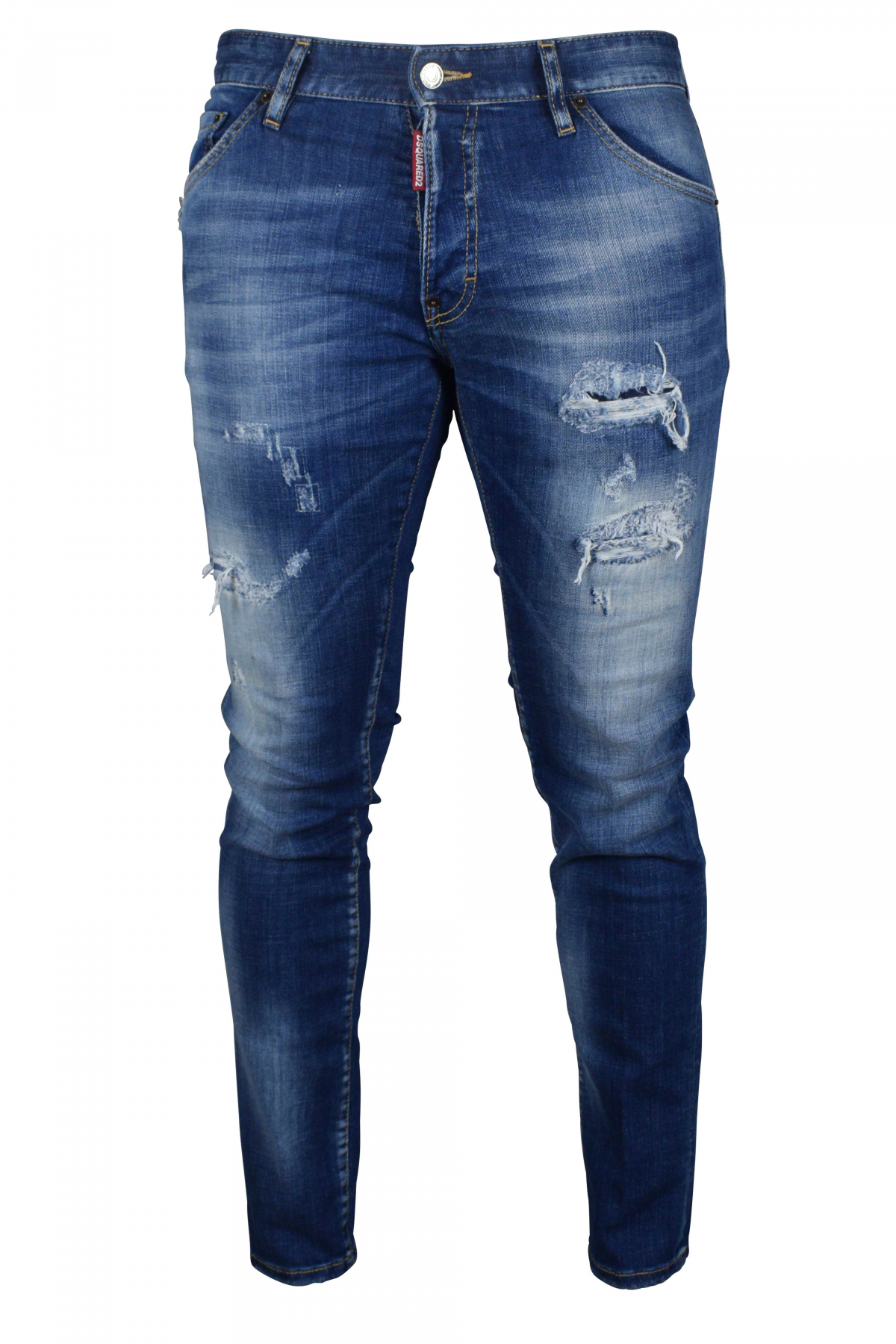 Cool Guy Jean Dsquared2 faded blue.